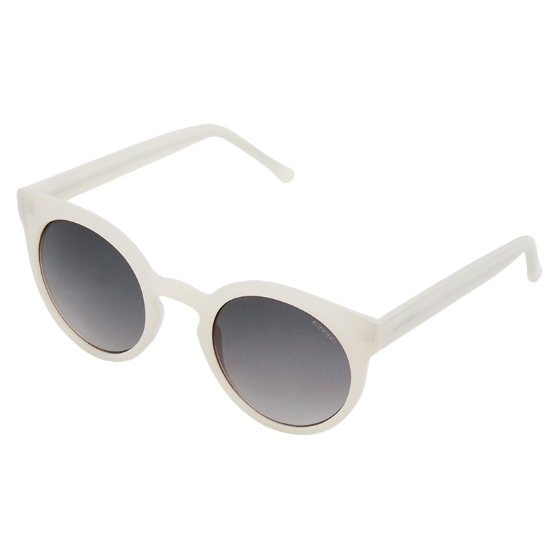 Komono Lulu Sunglasses White
