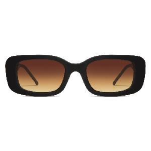 Komono Marco Sunglasses Black Rubber