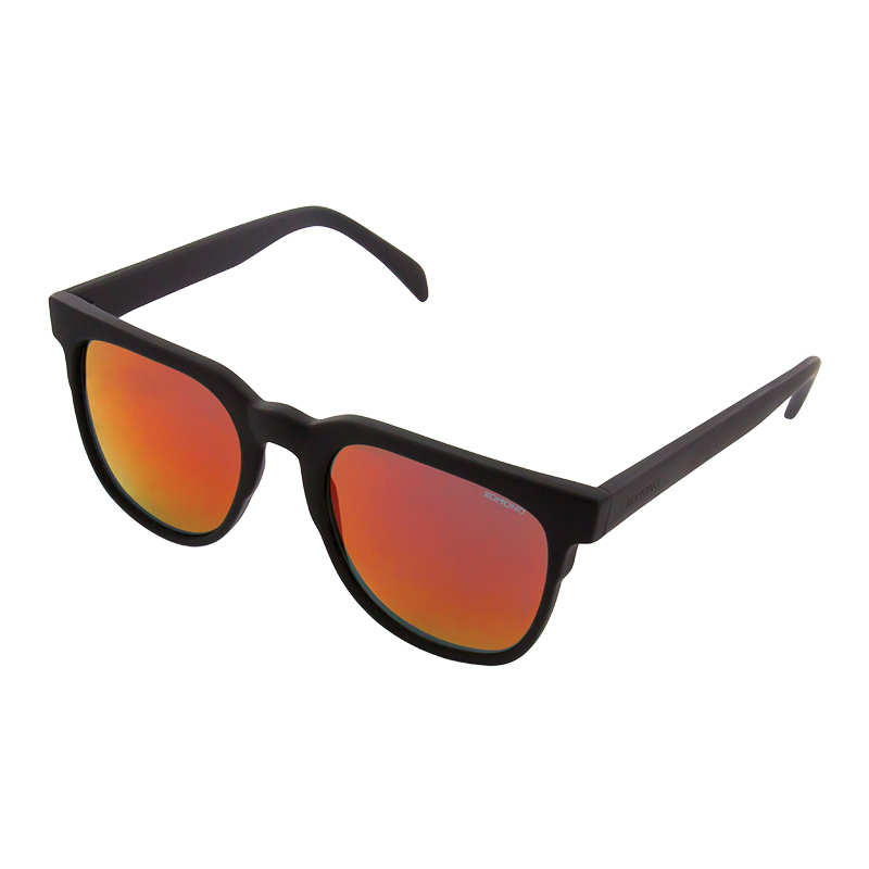 Komono Riviera Sunglasses Black Rubber