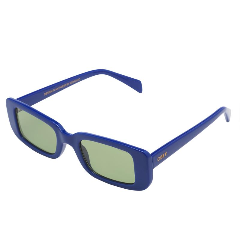 Obey X Komono Madox Sunglasses Marine Blue