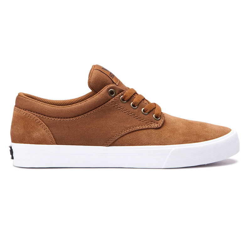 Supra Chino Brown/White/White
