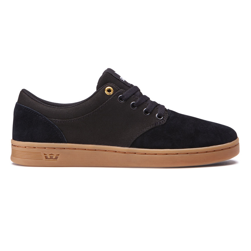 Supra Chino Court Black/Gum