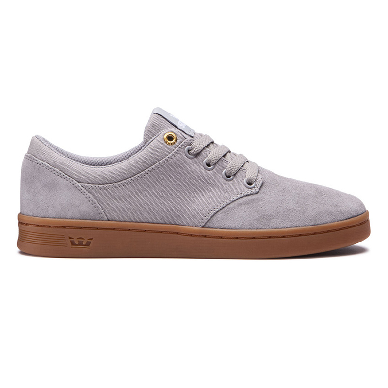 Supra Chino Court Shoes Lt. Grey/Gum