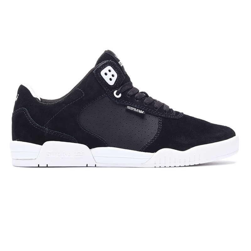 Supra Ellington Black White