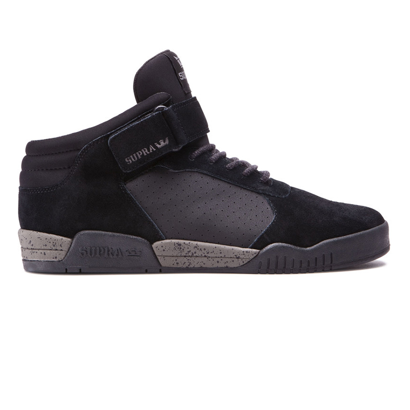 Supra Ellington Strap Shoes Black/Grey Speckle
