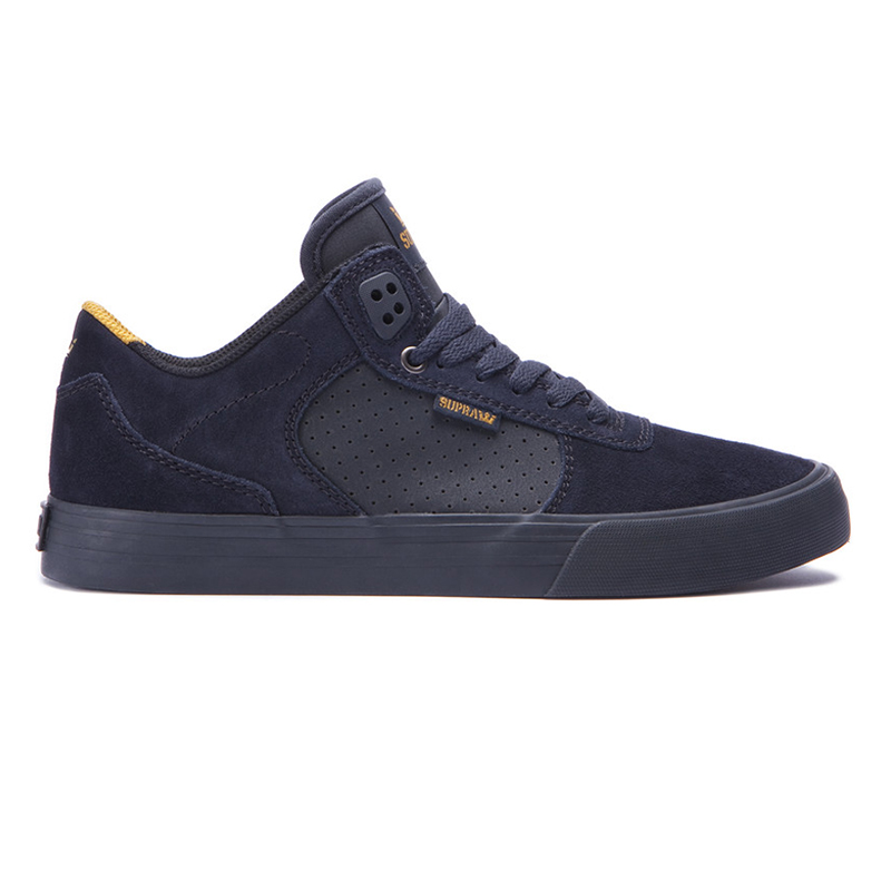 Supra Ellington Vulc Black/Amber Gold Black