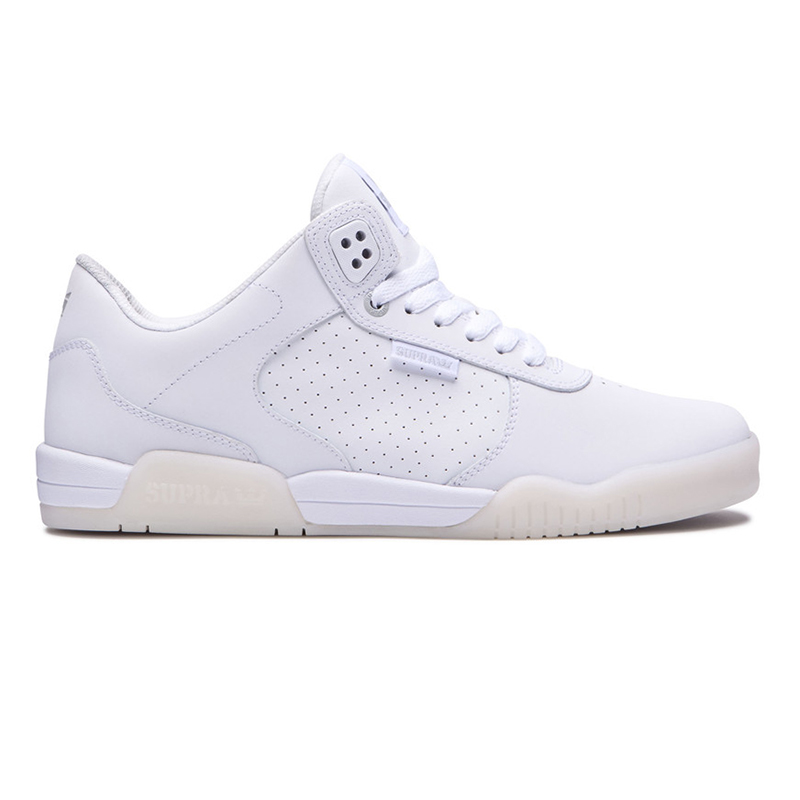 Supra Ellington White/White