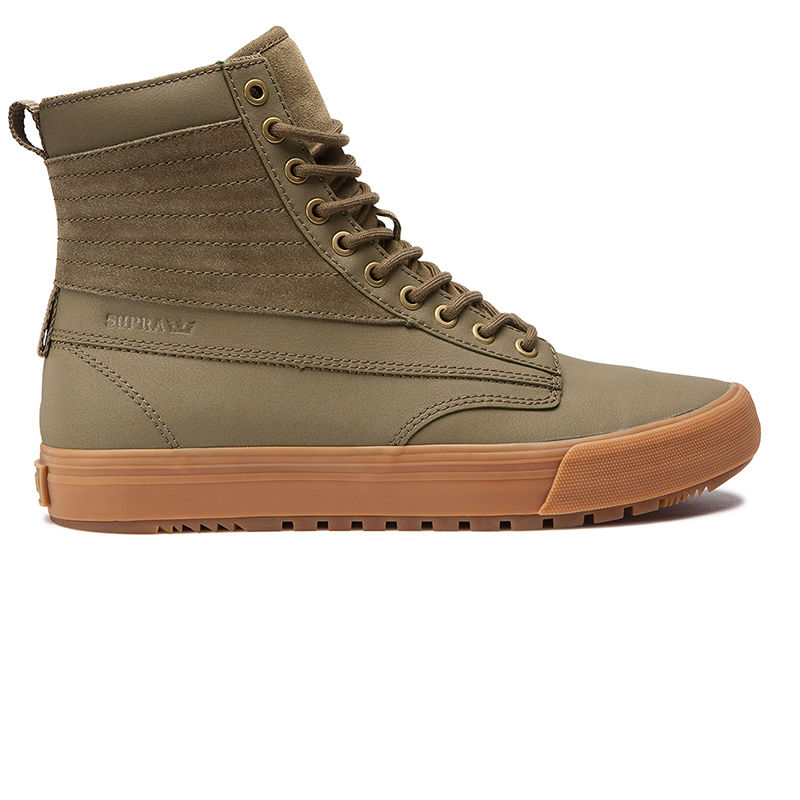 Supra Graham Cw Olive/Light Gum