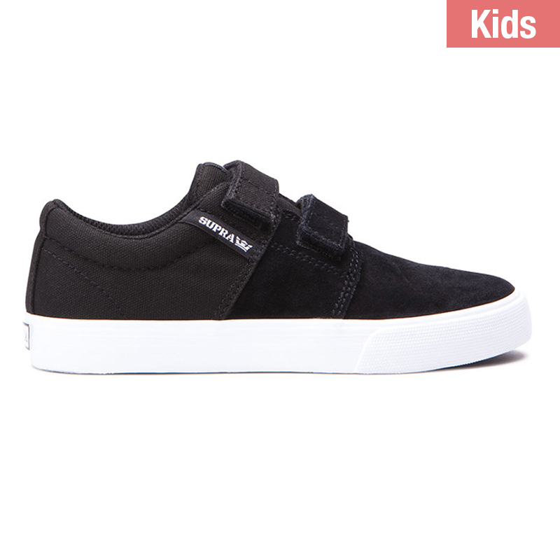 Supra Kids Stacks II Velcro Black/White