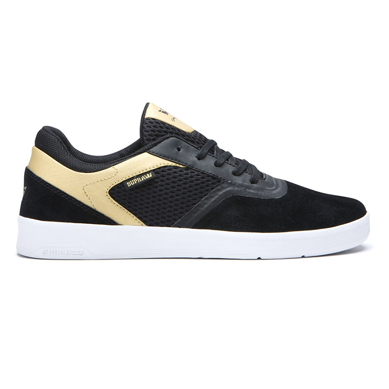 Supra Saint Black/Gold/White