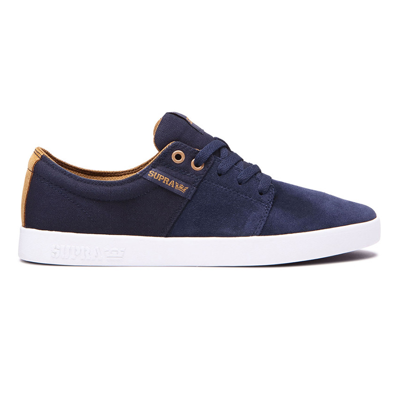 Supra Stacks II Navy/Tan/White