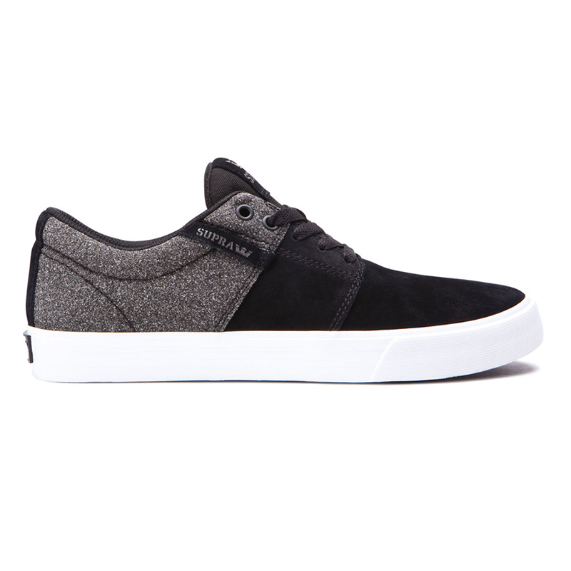 Supra Stacks II Vulc Black/Black