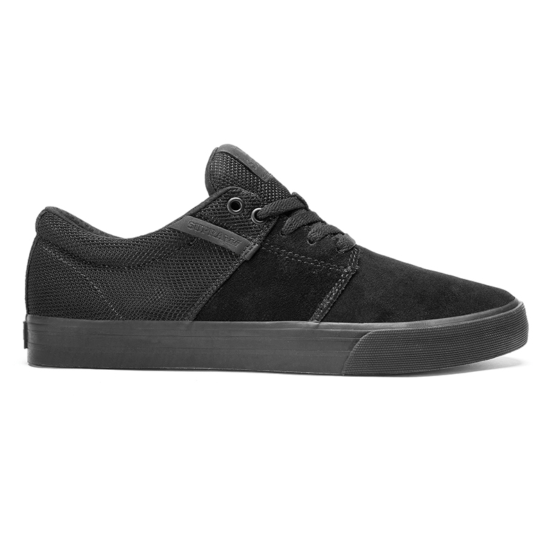 Supra Stacks II Vulc Black/Black/Black