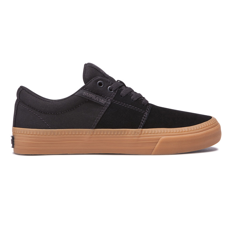 Supra Stacks II Vulc Hf Black/Gum
