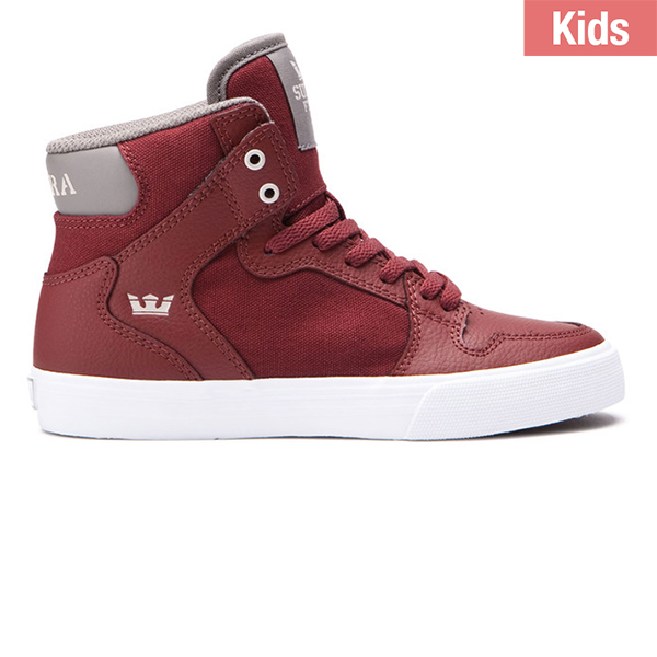 Supra Kids Vaider Brick/White