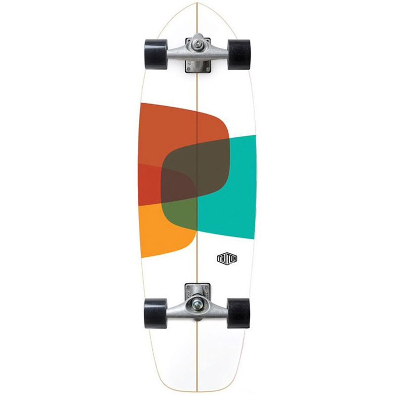 Triton by Carver CX Raw Prismal Complete Surfskate 32.0