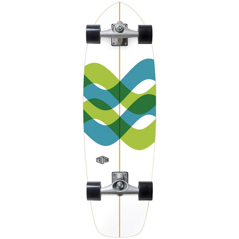 Triton by Carver CX Raw Signal Complete Surfskate 31.0