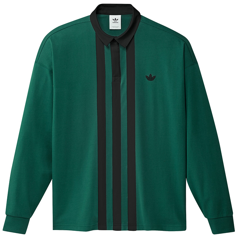 adidas Rugby Jersey Cgreen/Black