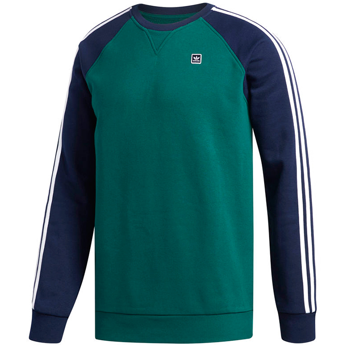 adidas Uniform Crewneck Sweater Cgreen/Nindig/White
