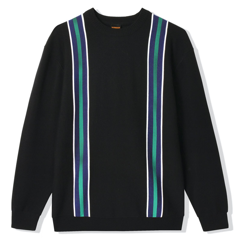 Butter Goods Dante Knit Sweater Black