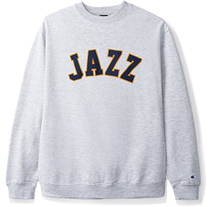 Butter Goods Jazz Champion Crewneck Sweater Heather Grey