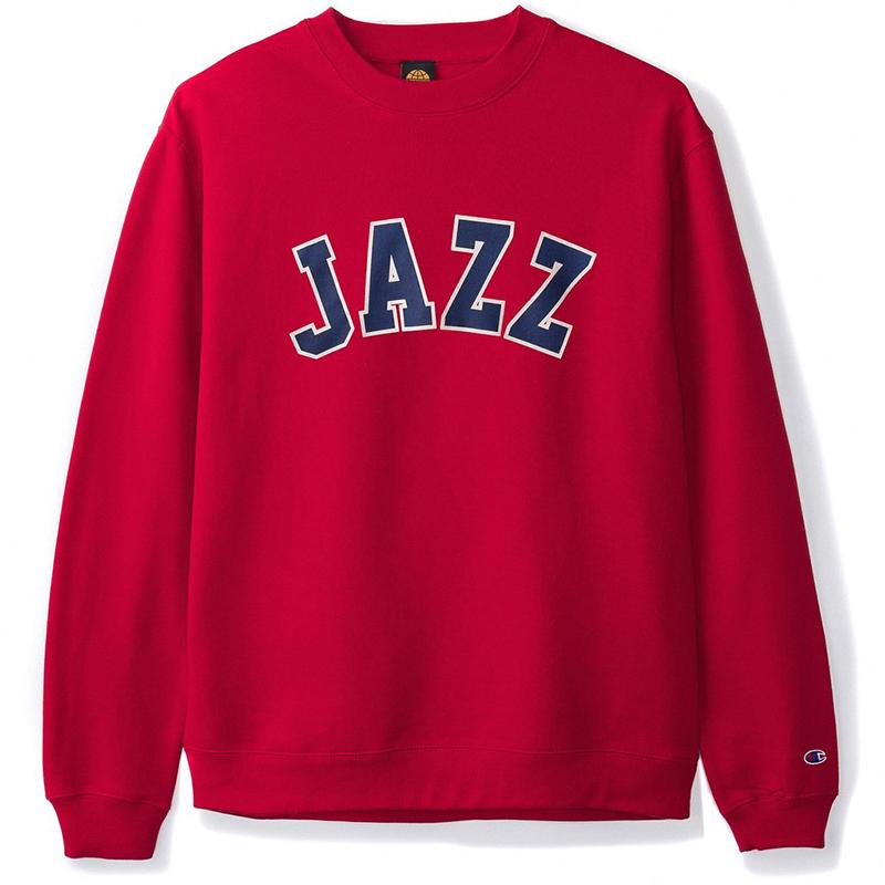 Butter Goods Jazz Champion Crewneck Sweater Red