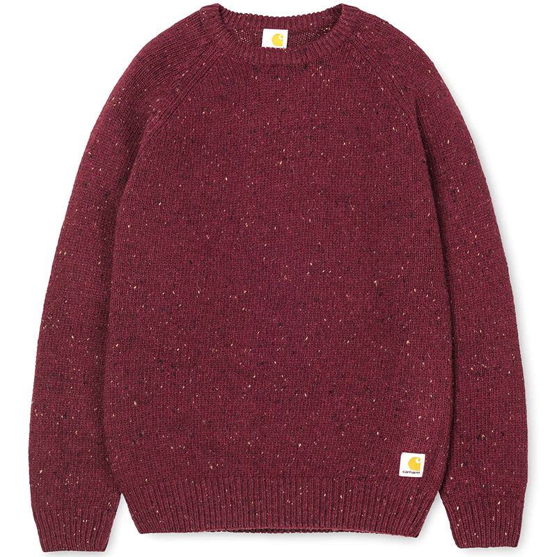 Carhartt Anglistic Sweater Chianti Heather