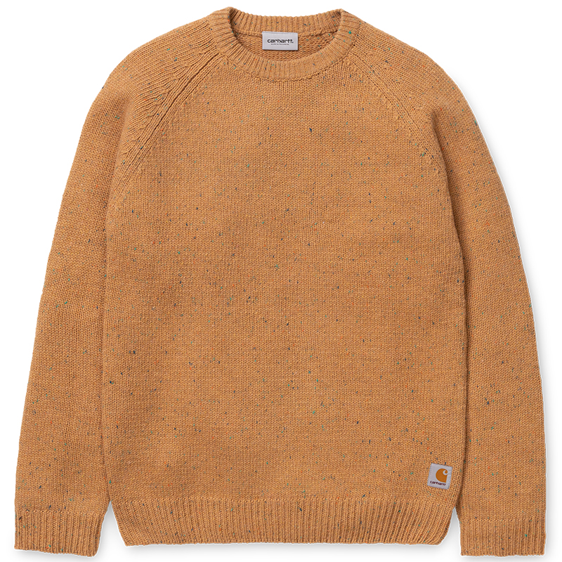 Carhartt Anglistic Sweater Fawn Heather