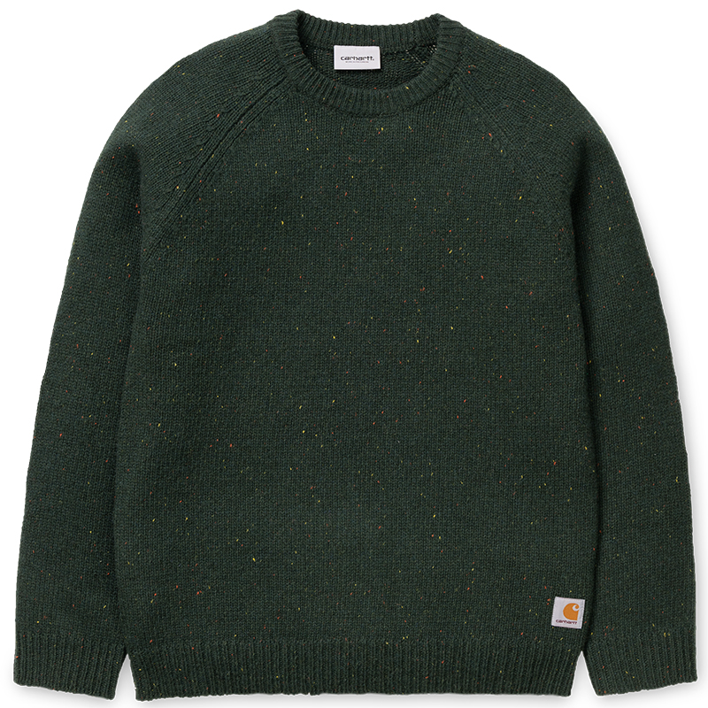 Carhartt Anglistic Sweater Loden Heather