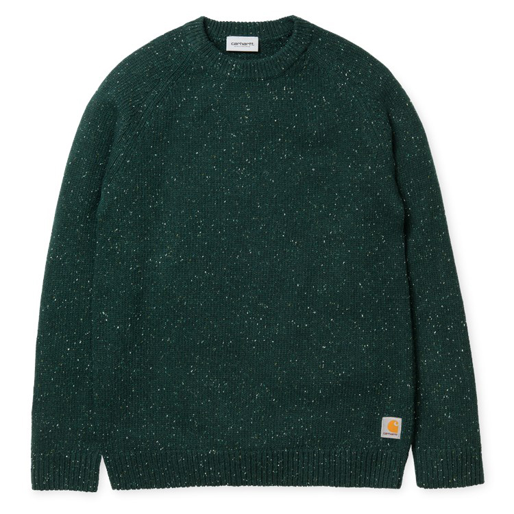 Carhartt Anglistic Sweater Parsley Heather