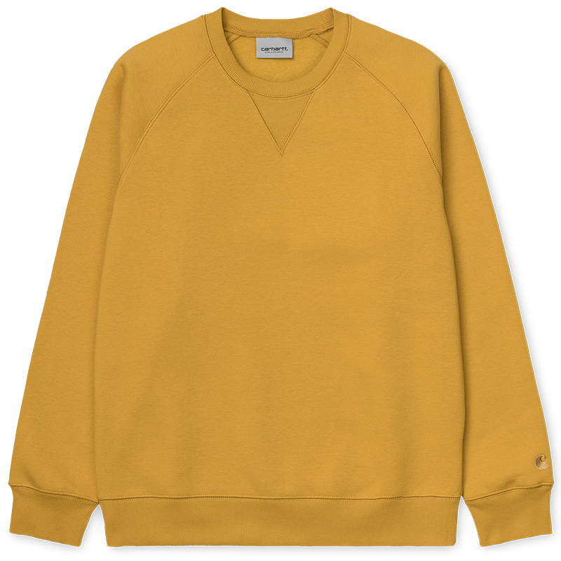 Carhartt WIP Chase Crewneck Sweater Colza/Gold