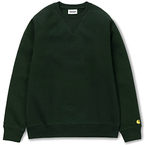 Carhartt Chase Sweater Loden/Gold