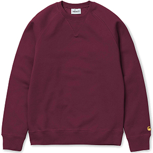 Carhartt Chase Sweater Mulberry/Gold