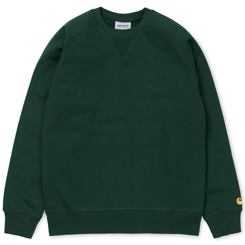 Carhartt Chase Sweater Tasmania/Gold