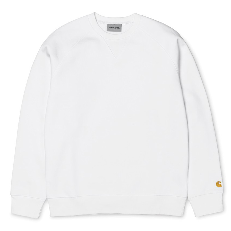 Carhartt Chase Sweater White/Gold