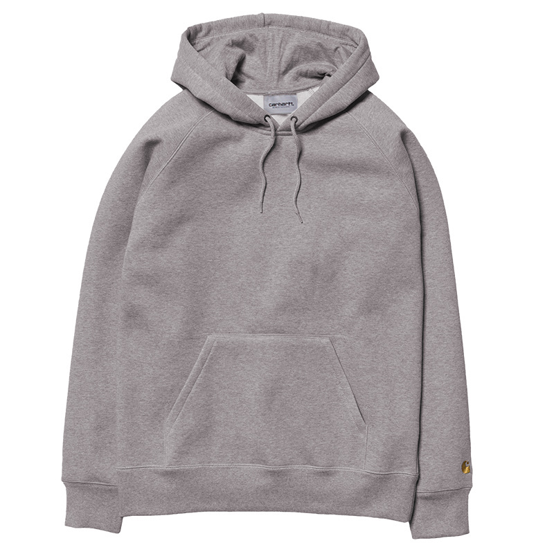 Carhartt Hooded Chase Sweater Grey Heather/Gold