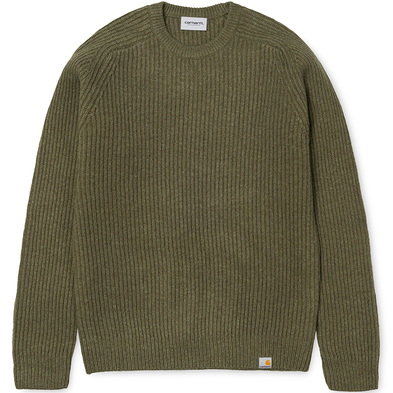 Carhartt Rib Sweater Cypress Heather