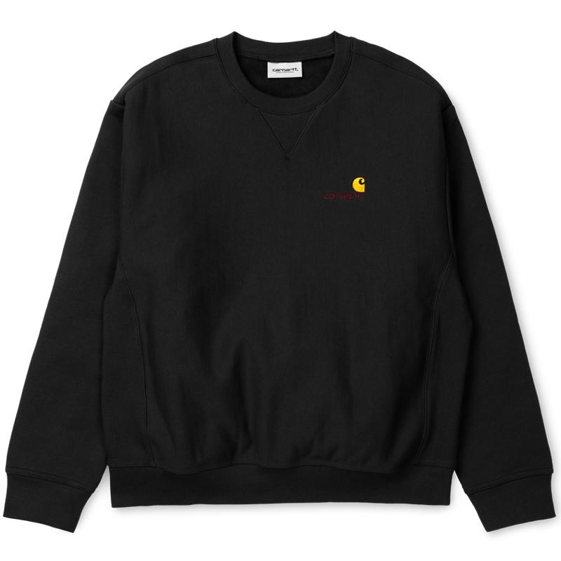 Carhartt WIP American Script Sweater Black