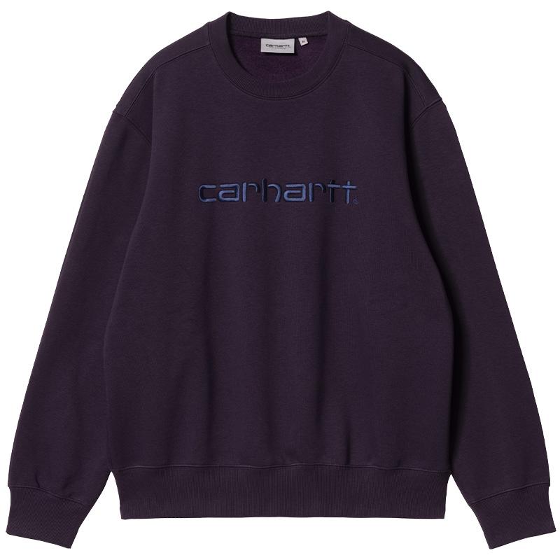 Carhartt WIP Carhartt Sweater Dark Iris/Cold Viola