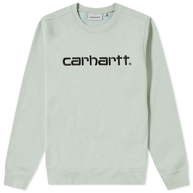 Carhartt WIP Carhartt WIP Sweater Frosted Green/Black
