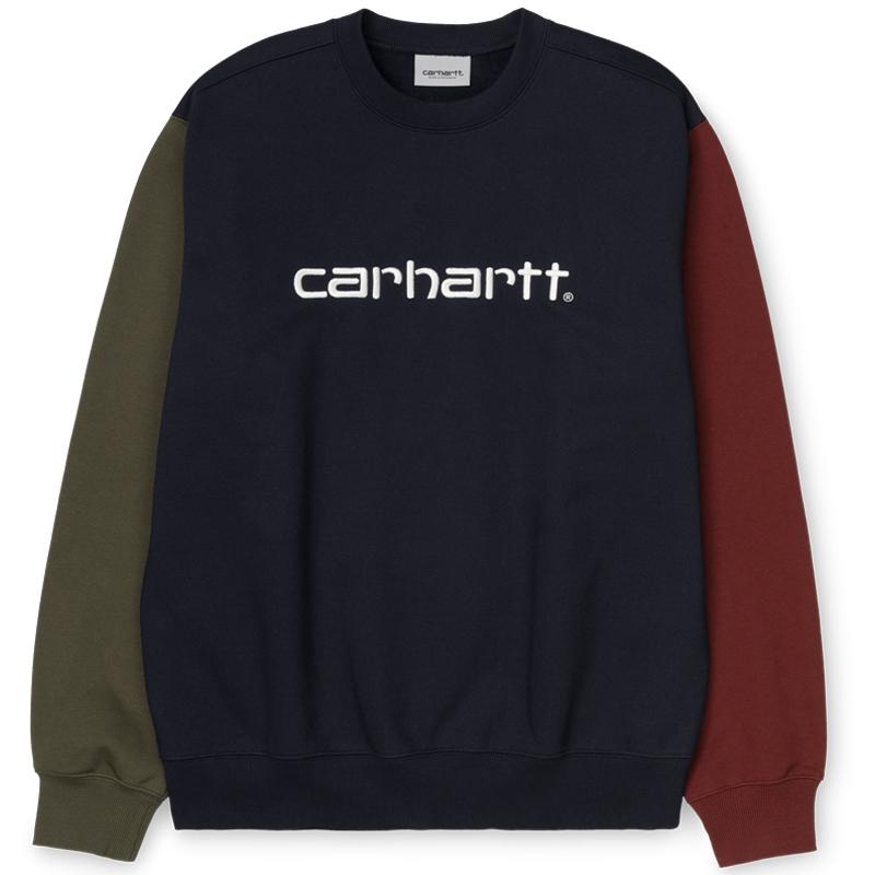 Carhartt WIP Carhartt WIP Tricol Sweater Dark Navy