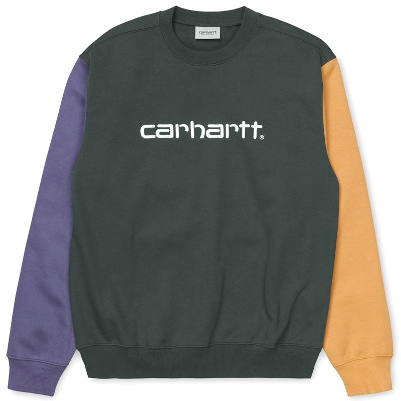 Carhartt WIP Carhartt WIP Tricol Sweater Dark Teal