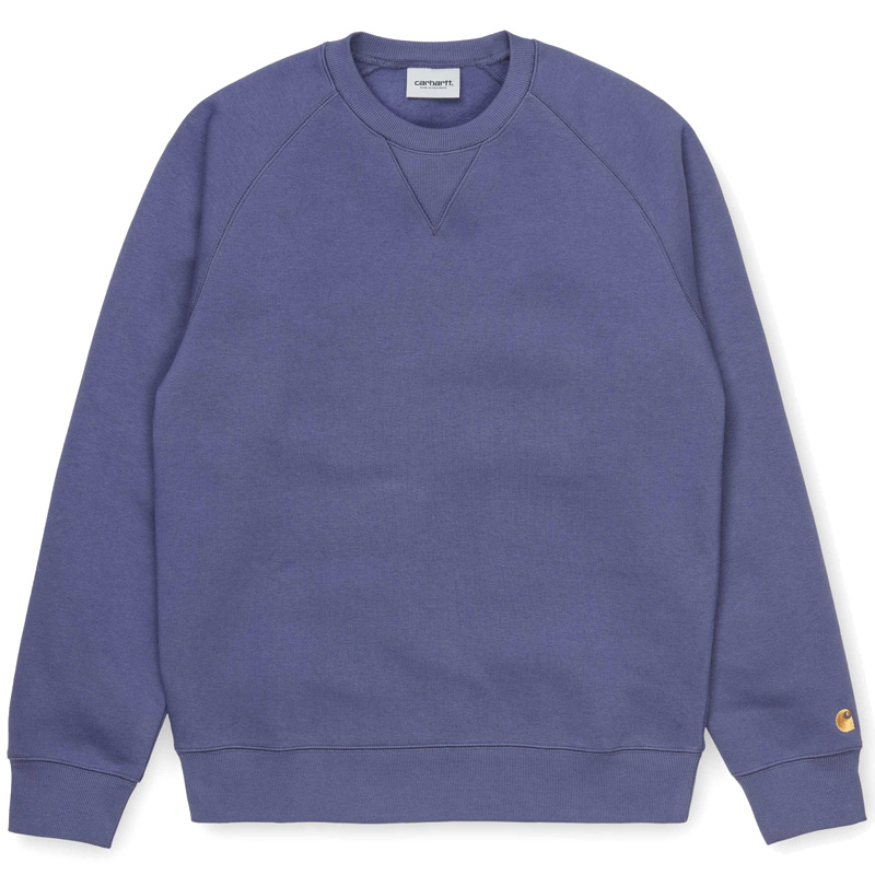 Carhartt WIP Chase Sweater Cold Viola/Gold