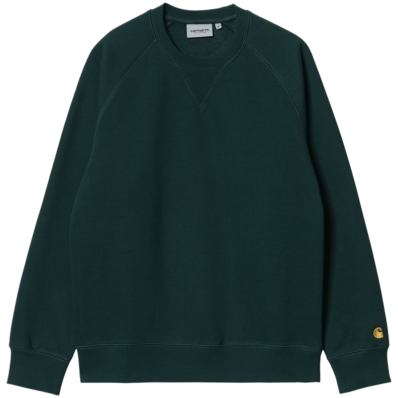 Carhartt WIP Chase Sweater Frasier/Gold