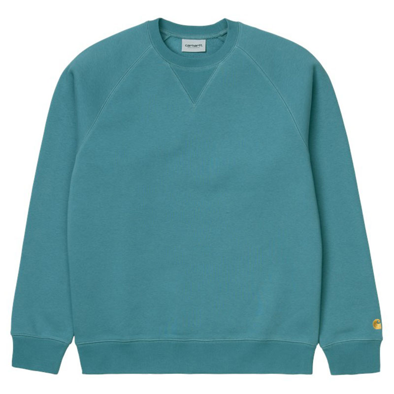 Carhartt WIP Chase Sweater Hydro/Gold