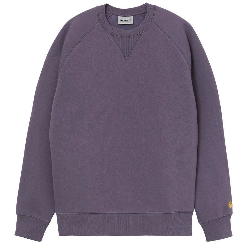 Carhartt WIP Chase Sweater Provence/Gold