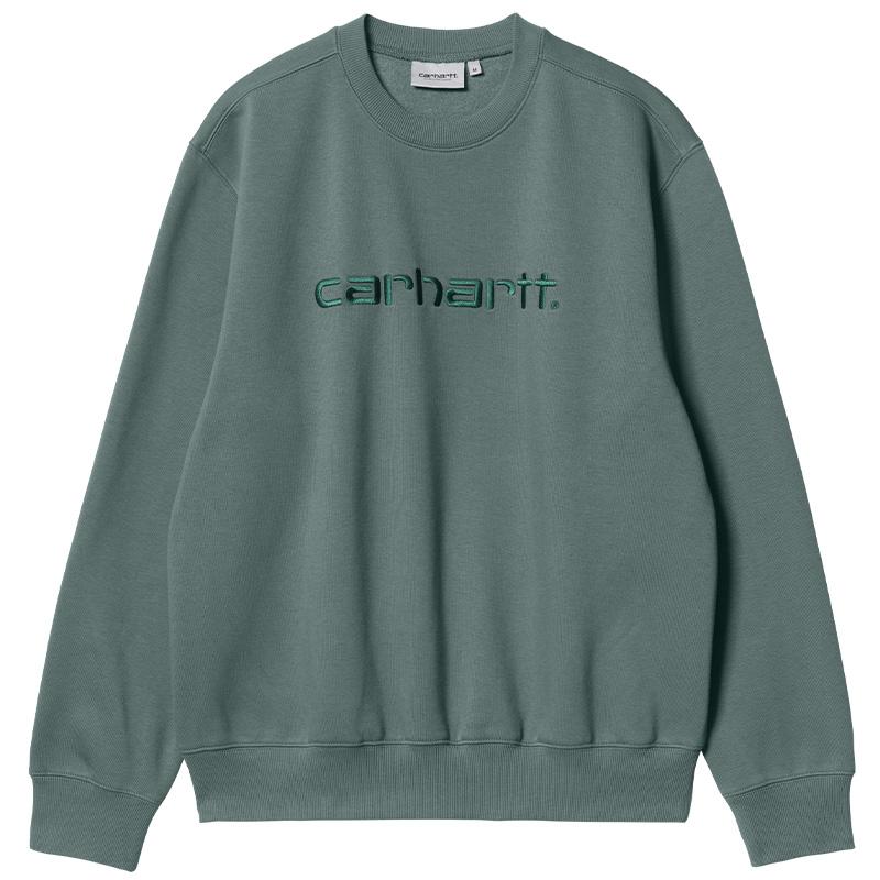 Carhartt WIP Crewneck Sweater Eucalyptus/Frasier