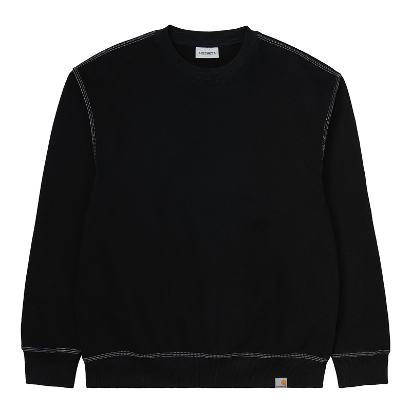 Carhartt WIP Nebraska Sweater Black/White