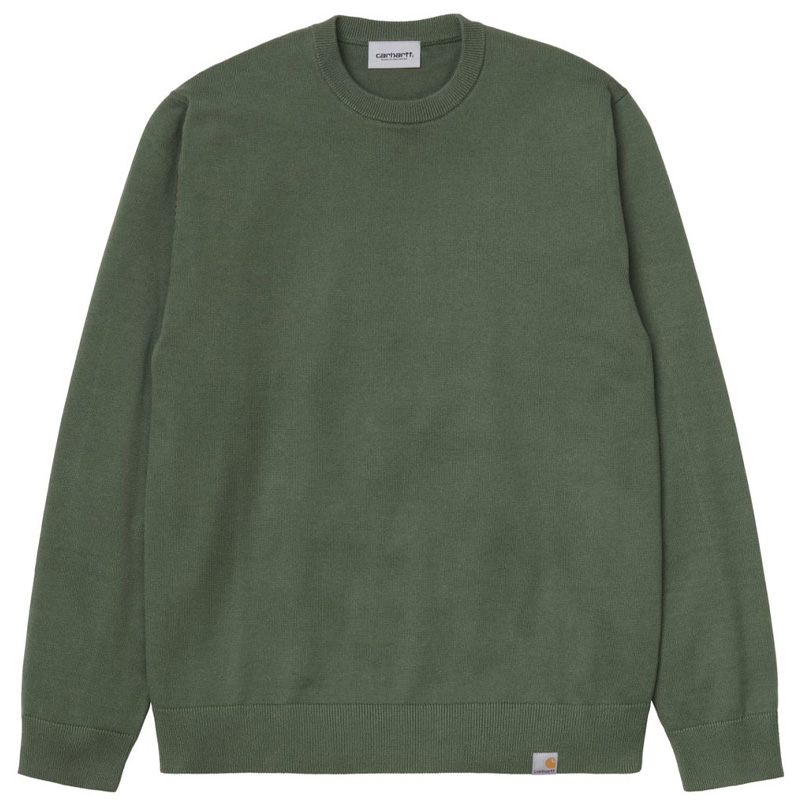 Carhartt WIP Playoff Sweater Dollar Green