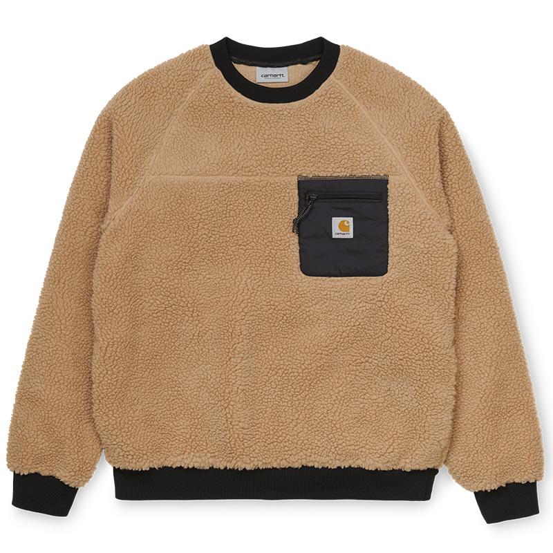 Carhartt WIP Prentis Sweatshirt Dusty H Brown